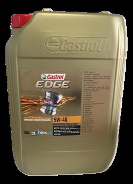 Castrol Edge 5W-40 Titanium 20L (gratis verzending)