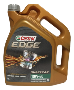 Castrol Edge Supercar 10W60 5L