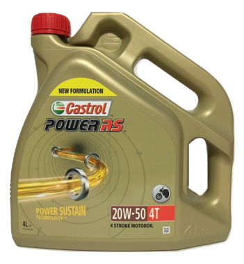 Castrol Power RS 4T 20W-50 4L