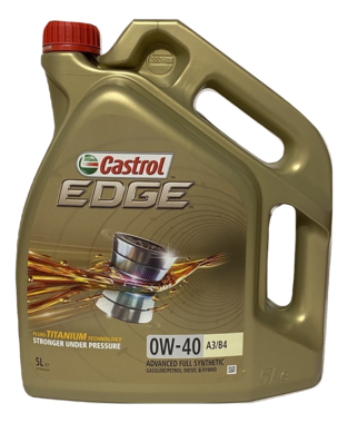Castrol Edge 0W-40 A3/B4 Titanium 5L