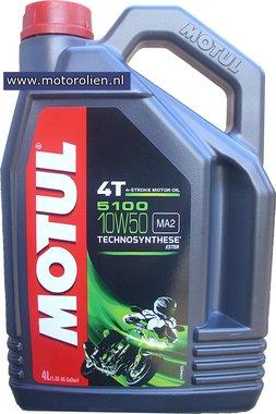 Motul 5100 4T 10W-50 motorolie 4L