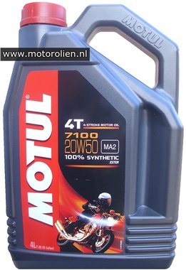 Motul 7100 4T 20W-50 motorolie 4L