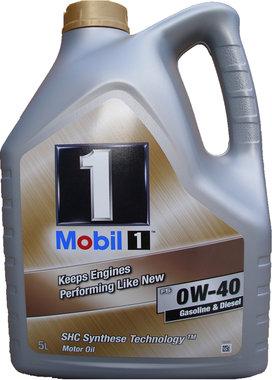Mobil 1 FS 0W-40 (5 liter)