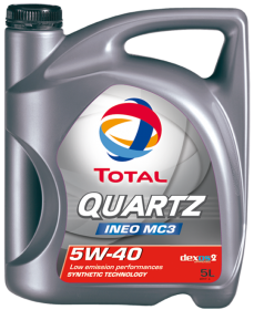 Total Quartz Ineo MC3 5W-40 (5 liter)
