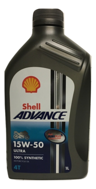 Shell Advance 4T Ultra 15W50 1L