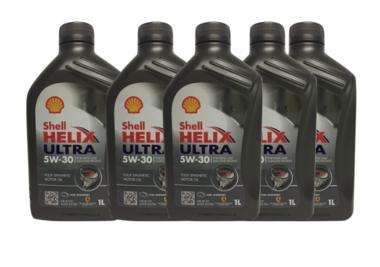 Shell Helix Ultra 5W-30 (5x1 liter) voordeelpak