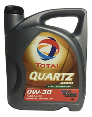 Total Quartz 9000 0W-30 Fuel Economy 5L