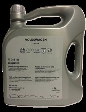 Volkswagen Origineel Longlife III 5W-30 5L