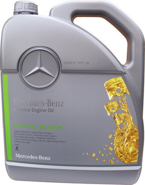 Mercedes Benz Motorolie Origineel 5W-30 (MB 229.52) 5L