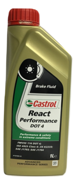 Castrol React Performance DOT 4 remvloeistof 1L