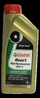 Castrol React Performance DOT 4 remvloeistof 1L