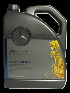 Mercedes Benz Motorolie Origineel 5W-40 (MB 229.5) 5L