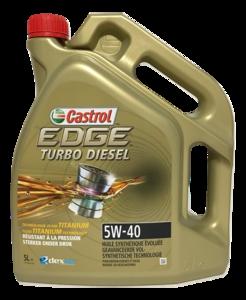 Castrol Edge Turbo Diesel 5W-40 (5 liter)