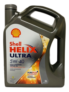 Shell Helix Ultra 5W-40 (5 liter)