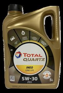 Total Quartz Ineo Longlife 5W-30 (5 liter)
