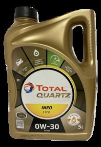 Total Quartz Ineo First 0W-30 new