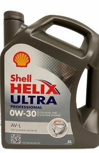 Shell Helix Ultra Professional AV-L 0W-30 (5 liter)