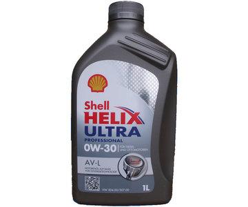 shell helix ultra professional av l 0w 30 1 liter. Black Bedroom Furniture Sets. Home Design Ideas