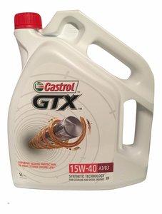 Castrol GTX 15W-40 A3/B3 5L