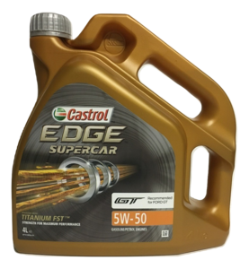 Castrol Edge Supercar 5W-50 4L