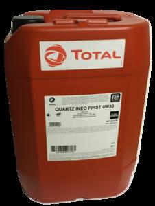 Total Quartz Ineo First 0W-30 20L (gratis verzending)