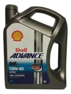 Shell Advance 4T Ultra 10W40 4L